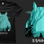 Choose the totoro shirt that adds style to your character!