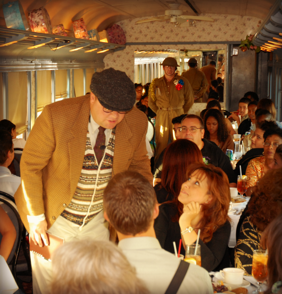 holiday dinner trains near miami-dade county